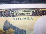 🔥 prima semnatura 1970 🔥 Noua Caledonie NOUMEA 500 Francs ✅ UNC ✅