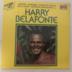 [Vinil] Harry Belafonte - Original Hits - disc original LP