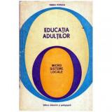 Educatia adultilor - Microsisteme locale