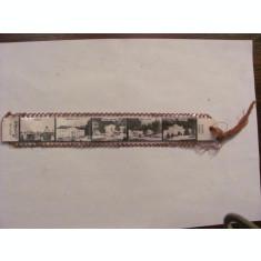 """GE - Semn carte vechi """"Vederi din Borsec"""" perioada comunista"""