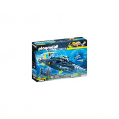 Playmobil Top Agents - Echipa S.H.A.R.K. cu submarin