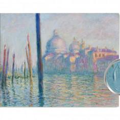 Claude Monet Le Grand Canal Reproducere Artă Textura manual de înaltă calitate