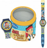 Ceas Junior WALT DISNEY KID WATCH Model JAKE THE PIRATE - Tin box 561149