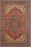Covor Oriental & Clasic Chiara, Albastru/Rosu, 160x230, Safavieh