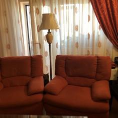 Canapea extensibila , 2 fotolii si un taburet Carina Mobexpert
