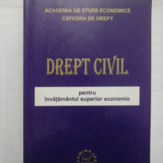 DREPT CIVIL - PENTRU INVATAMANTUL SUPERIOR - PROF. UNIV. DR. BRANDUSA STEFANESCU/ CONF. UNIV. DR. RALUCA DIMITRIU