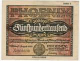 Bancnote rare Germania - 500 000 Marci 1923