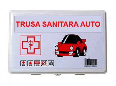 Trusa medicala auto de prim ajutor omologata , import Slovacia foto