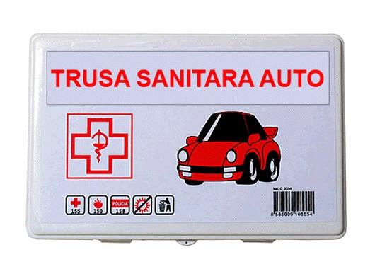 Trusa medicala auto de prim ajutor omologata , import Slovacia