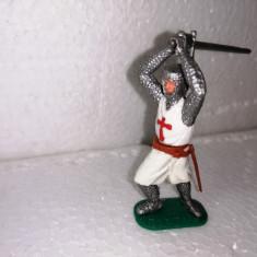 bnk jc Figurina de plastic - Timpo - cavaler templier