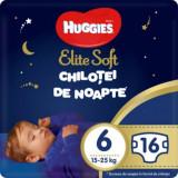 Cumpara ieftin Scutece Huggies Chilotel de nopate Elite Soft Overnight Pants, nr 6, 15-25 kg, 16 buc