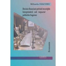 Decizia financiara privind investitiile intreprinderii sub impactul politicilor bugetare - Mihaela DIACONU