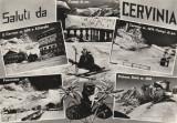 Italia - Cerv1nia 2050 m ,Sport , Schi , Schior ,Telecabina, Necirculata, Printata