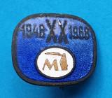 Insigna Epoca de Aur RSR Industrie - Realizari 1948-1968