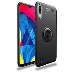 Husa Samsung Galaxy A10 iberry Ring Case Negru