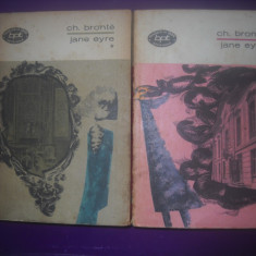 HOPCT  JANE EYRE/CHARLOTTE  BRONTE -2 VOLUME [ 1 SI 2 ] - 1970/ 700 PAGINI