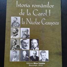 Ioan Scurtu, Istoria romanilor de la Carol 1 la Nicolae Ceausescu