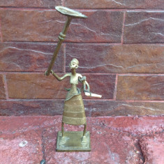 Statueta din bronz - Arta Africana !!!