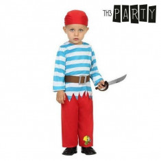 Costum Deghizare pentru Bebeluși Pirat (3 Pcs)