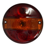 Lampa spate remorca rotunda 140mm 12/24V universala AutoLux partea Dreapta/ Stanga fara lampa numar - BIT-99LT005E