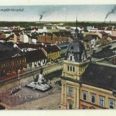 Cp Arad - circulata 1921, timbre, Fotografie