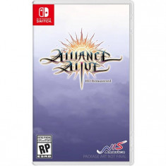 The Alliance Alive Remastered Day One Edition Nintendo Switch