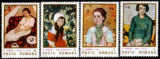 Romania 1986 - REPRODUCERI DE ARTA. PICTURA TONITZA. SERIE MNH, R30, Nestampilat
