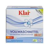 Cumpara ieftin Detergent bio pudra fara parfum pentru rufe, cu nuci de sapun, Klar, 1.1 kg