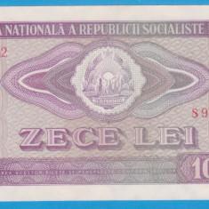 (1) BANCNOTA ROMANIA - 10 LEI 1966, REPUBLICA SOCIALISTA ROMANIA, STARE BUNA