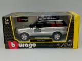 Macheta range rover 2001 safari - burago, 1/24, noua., 1:24, Bburago