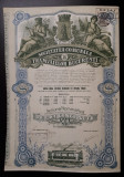 Actiune 1921 Societatea tramvaielor Bucuresti - titlu - actiuni