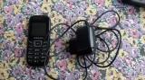 Samsung GT-E1200 negru + INCARCATOR , LIBER DE RETEA , FUNCTIONEAZA