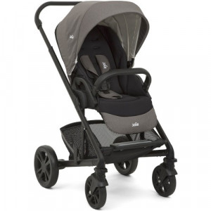 Carucior Multifunctional 2 in 1 Chrome Foggy Gray