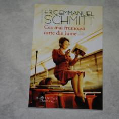 Cea mai frumoasa carte din lume si alte povestiri - Eric-Emmanuel Schmitt - 2017