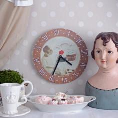 Ceas Ceas decorativ cu briose cu ciocolata