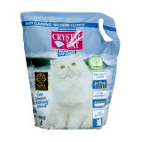 Crystal Cat nisip silicatic Sea Breeze, 3.8 l