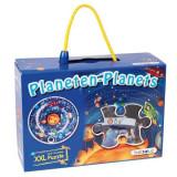 Sa invatam planetele - Puzzle circular XXL - piese mari, Beleduc