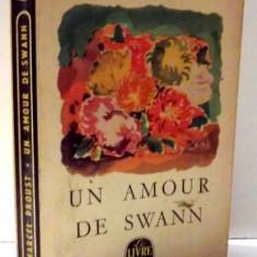 UN AMOUR DE SWANN par MARCEL PROUST , 1964