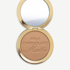 Pudra bronzanta/ bronzer mat- Too faced Milk Chocolate Soleil Matte Bronzer