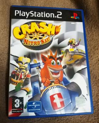 Crash Nitro Kart PS2, original, PAL foto