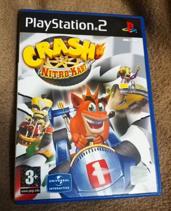 Crash Nitro Kart PS2, original, PAL