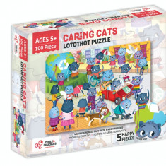 Puzzle cu surprize - Lotothot (100 piese) PlayLearn Toys