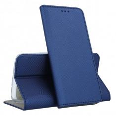 Husa Samsung Galaxy J6 Plus 2018 - Smart Magnet (Bleumarin)