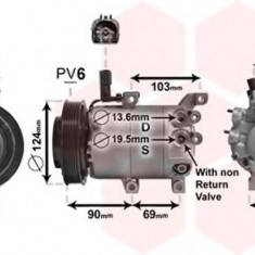 Compresor clima / aer conditionat HYUNDAI ELANTRA limuzina (MD, UD) (2010 - 2016) VAN WEZEL 8200K382