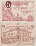 1920, 5 centavos (CMA 4412) - Portugalia (Vila Nova de Famalicão)!