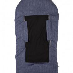 Sac de iarna 100 cm Melange Blue JeansBeige 9635