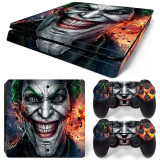 Skin / Sticker/ Autocolant Playstation 4 PS4 JOKER SLIM