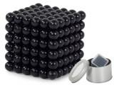 Joc Bile Magnetice NeoCube Antistres, 216 piese, Diametru Bile 5mm, negru