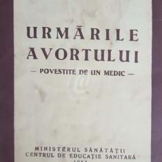 Urmarile avortului, povestite de un medic