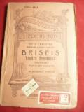 Jules Lemaitre - Briseis - Tanara Preoteasa -BPT 1164-1165, trad.B.Kanner